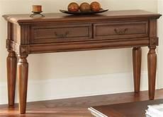 davina warm cherry sofa table from steve silver dv100s