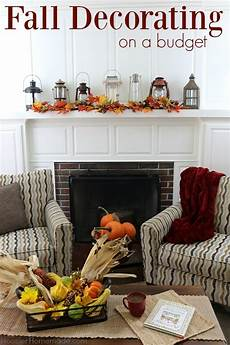home decor simple fall decorating on a budget hoosier
