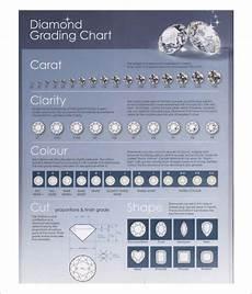 Rough Diamond Grading Chart Free 6 Diamond Chart Templates In Pdf