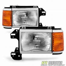 Aftermarket Headlights And Lights For Trucks 1987 1991 Ford Bronco F150 F250 Truck Headlights Chrome
