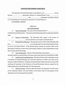 Partnership Agreement Template Free Download 40 Free Partnership Agreement Templates Business General