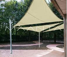 tende triangolari easyshade vela impermeabile 160gr triangolare a 3 lembi