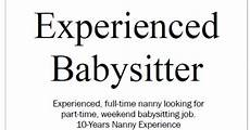 Part Time Babysitter Jobs How To Be The Best Nanny Finding A Part Time Babysitting