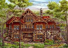 Log House Design Luxury Log Home With Finished Lower Level 13319ww