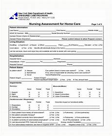 Example Of Assessment Free 8 Medical Assessment Forms Amp Samples In Pdf