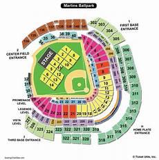 Marlins Seating Chart Marlins Park Seating Chart Seating Charts Amp Tickets