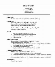 Examples Of Resume Layouts Sample Resume Layout 8 Examples In Word Pdf