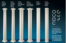 Column Types Architectural Elements 174 Inc Wood Columns