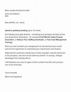 Intro Letter Sample 41 Free Letter Of Introduction Templates Amp Examples Free