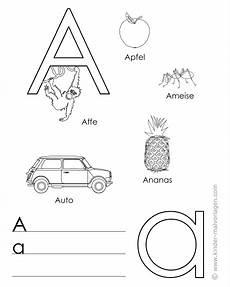 alphabet lernen buchstaben lernvorlagen