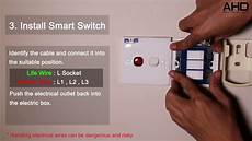 Installing A Smart Light Switch Broadlink Smart Home Switch Installation Just Simple And