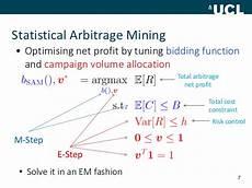Statistical Arbitrage Statistical Arbitrage Gallery
