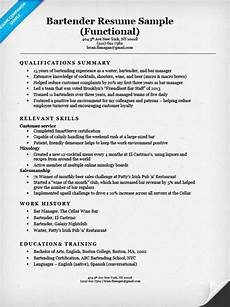 Functional Summary Examples Functional Resume Examples Amp Writing Guide Resume Companion