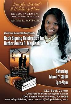 Book Flyers Examples Words By Amina Book Signing Celebration