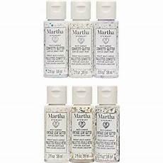 Martha Stewart Craft Paint Color Chart Martha Stewart Crafts 6 Color Multi Surface Acrylic Paint