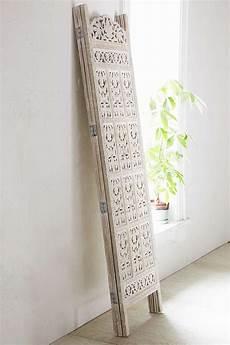 carved wood room divider screen wood room divider