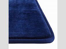 Genteele Memory Foam Bath Mat Non Slip Absorbent AND BEST Super Cozy Velvet Bathroom Rug Carpet