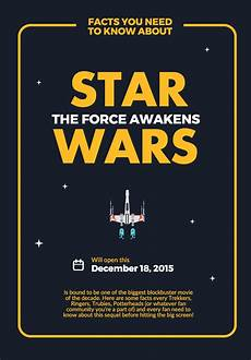 Design Your Own Poster Free Create Your Own Starwars Theforceawaken Poster With