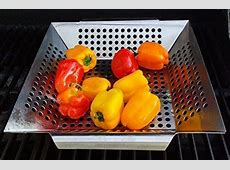#1 BEST Vegetable Grill Basket   BBQ Accessories for