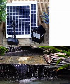 Solar Waterfall Lights 20 Watt Solar Water Pumps With Battery And Leds