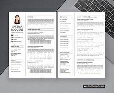 Curriculum Vitae Word Template 2020 Cv Template For Ms Word Professional Amp Modern Cv