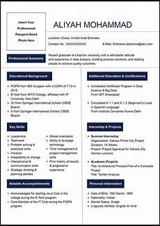 Graduate Resume Examples How To Write A Resume For Fresher Naukrigulf Com