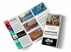Art Gallery Brochure Design Art Exhibition Brochure Template Mycreativeshop