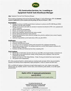Cover Letter For Online Job Posting New Warehouse Manager Job Posting Trendy Cover Letter For