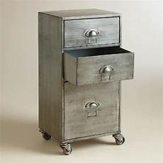 metal 3 drawer jase rolling file cabinet world market