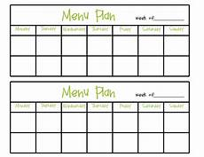 Menu Planner Forms Simply Complicated Menu Planning