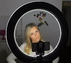 Diva Ring Light For Iphone Socialite 18 Quot Dimmable Photo Video Led Ring Light Kit