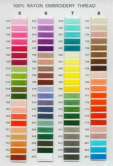 Embroidery Thread Exchange Chart Color Thread Laurensthoughts Com