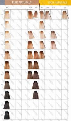 Wella Colour Id Chart Wella Color Touch Make Up In 2019 Balayage Wella Hair