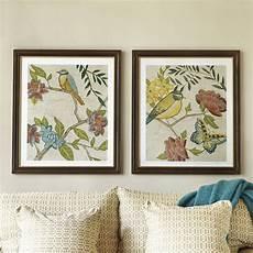 Ballard Designs Art Antique Aviary Giclee Prints