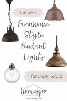 Farmhouse Swag Light My Favorite Farmhouse Style Kitchen Pendant Lights For