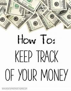 Keeping Track Of Your Money Keeping Track Of Money Howtomakemoneyasakid Com