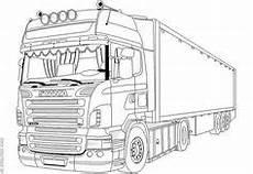 Ausmalbilder Lkw Daf Semi Truck Drawings Semi1 Clipart And Vectorart