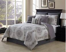 13 sloan taupe gray 100 cotton bed in a bag set