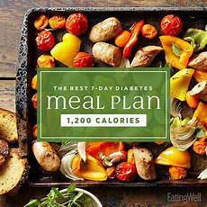 Diet Chart For Dinner The Best 7 Day Diabetes Meal Plan Eatingwell