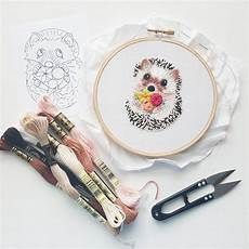 15 embroidery patterns ready for you to and sew