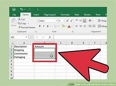 How To Create A Breakeven Chart How To Do A Break Even Chart In Excel With Pictures