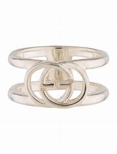 Interlocking Ring Gucci Interlocking G Wide Open Ring Rings Guc164579