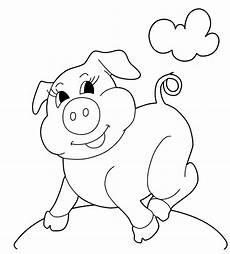 ausmalbilder zum ausdrucken gratis malvorlagen schwein 2