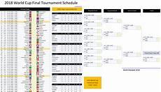 Fixture Schedule Template World Cup 2018 Schedule Excel Template Excel Vba Templates
