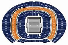 Denver Broncos Club Level Seating Chart Sept 27 Bucs At Broncos