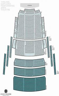 Okc Civic Center Seating Chart Seating Chart Oklahoma City Philharmonic