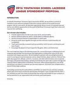 Non Profit Sponsorship Proposal Template 13 Sports Sponsorship Proposal Templates Word Pdf