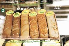 Subway Ingredients Chart What S In Your Food