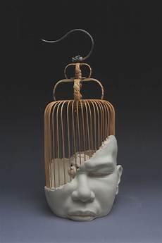Ceramic Sculpture Artists Johnson Tsang S Cherub Sculptures And The War For Your Mind