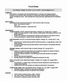 Editable Resume Template 35 Printable Teacher Resume Templates Free Amp Premium